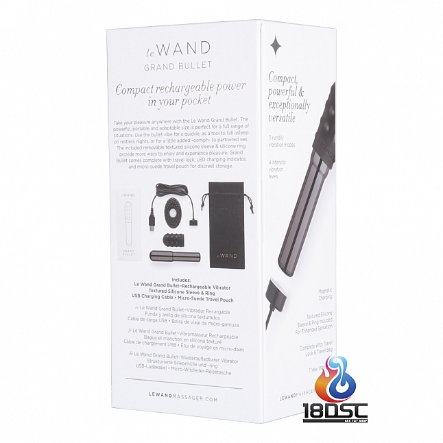 le WAND - Rechargeable Vibrator GRAND BULLET