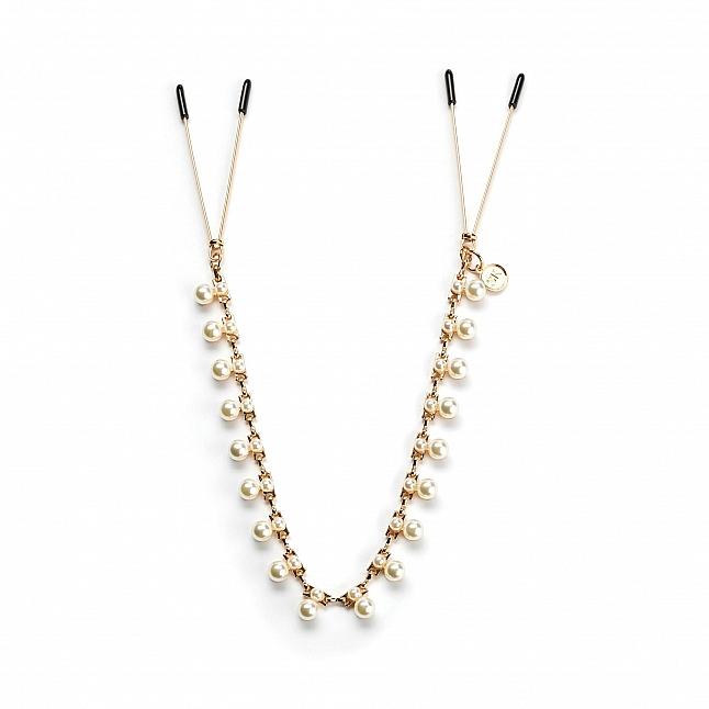 Secret Kisses - Pretty In Pearls Nipple Clips