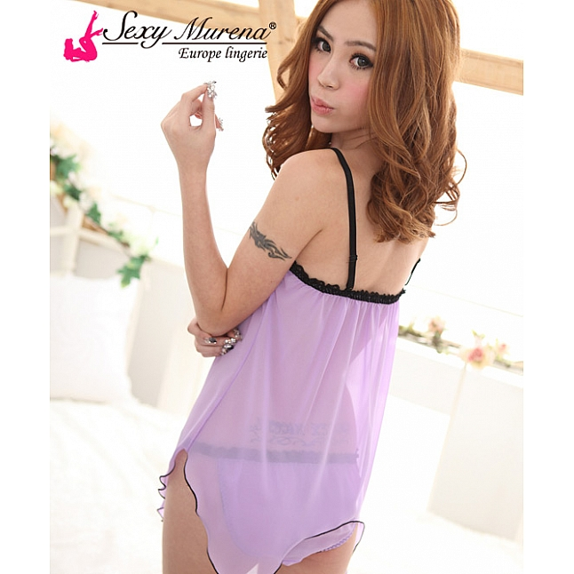 Sexy Murena Purple Fairy Babydoll