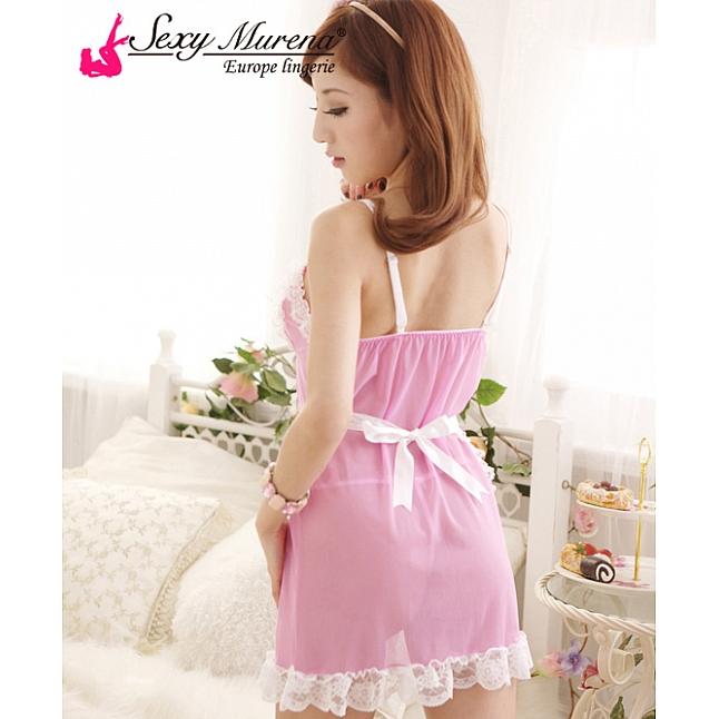 Sexy Murena Sexy Pink Maid Costume