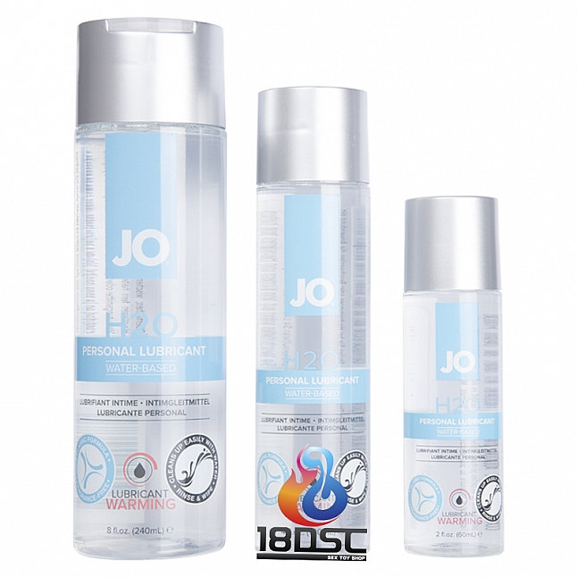 JO - H2O 水性溫感潤滑油