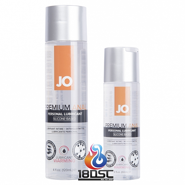 JO - Premium Anal Warming Silicone-based Lubricant