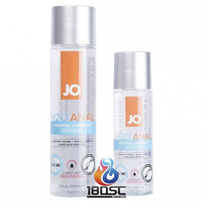 JO - H2O Anal Warming Lubricant